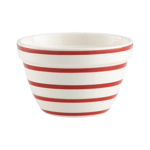"Striped 4.75"" Individual Bowl"