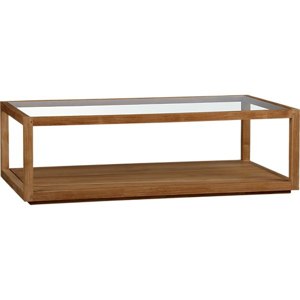 Off Crate And Barrel Crate Barrel Square Coffee Table: Structure Rectangular Coffee Table