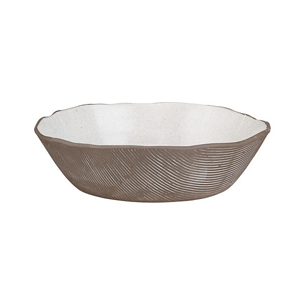 Studio Dark Clay Serving Bowl