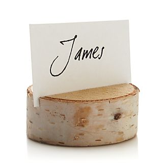 Stump Placecard Holder