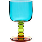 Turquoise Goblet. 10 oz.; 3.5&amp;quot;dia.x5.7&amp;quot;H