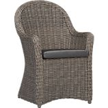 Summerlin Arm Chair with Sunbrella Charcoal Cushion