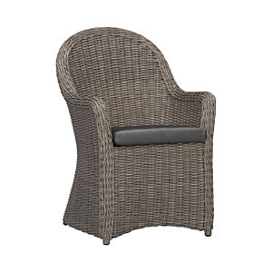 Summerlin Arm Chair with Sunbrella® Charcoal Cushion