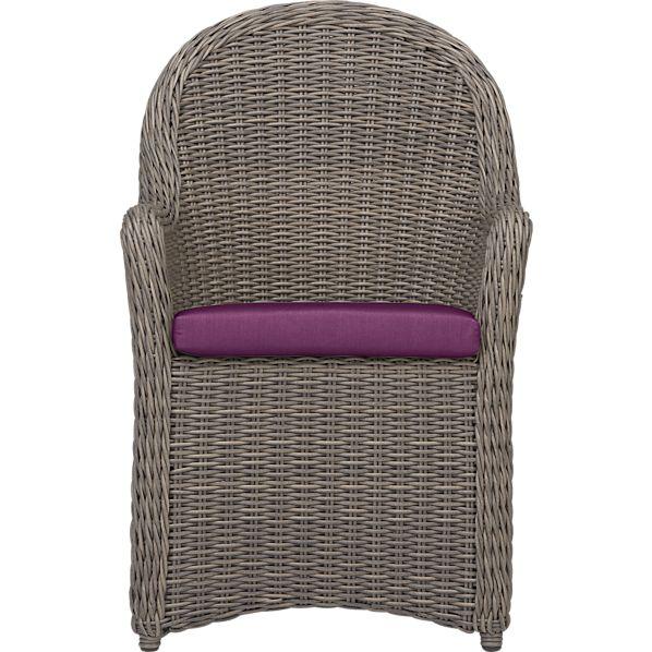 Summerlin Arm Chair with Sunbrella® Phlox Cushion