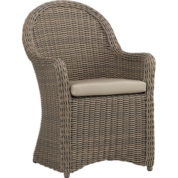 Summerlin Arm Chair with Sunbrella ® Stone Cushion