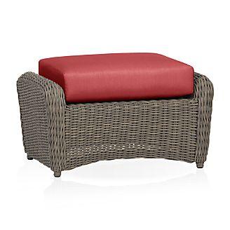 Summerlin Ottoman with Sunbrella ® Cushion