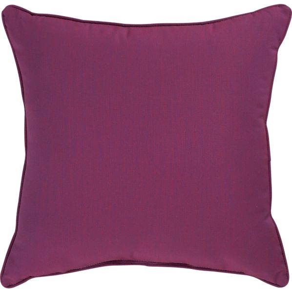 "Sunbrella® Phlox 20"" Sq. Outdoor Pillow"