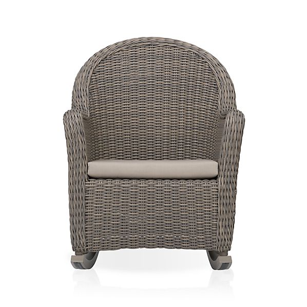 Summerlin Rocking Chair with Sunbrella® Stone Cushion