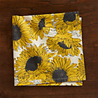 Sunflower Napkin.