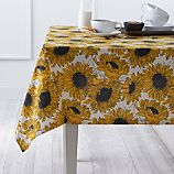 "Sunflower 60""x90"" Tablecloth"