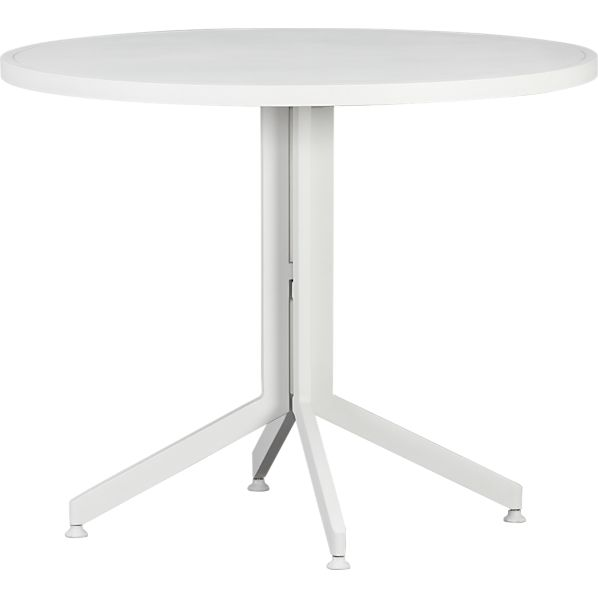 Surf White Flip-Top Table