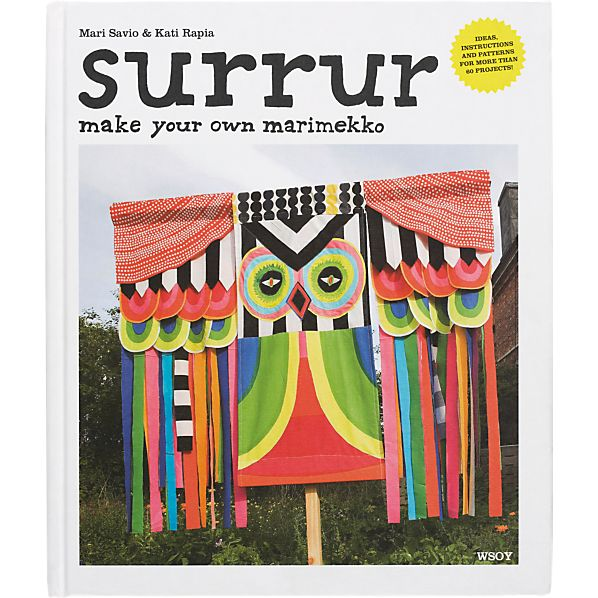 """Marimekko Surrur Book: Make Your Own Marimekko"""