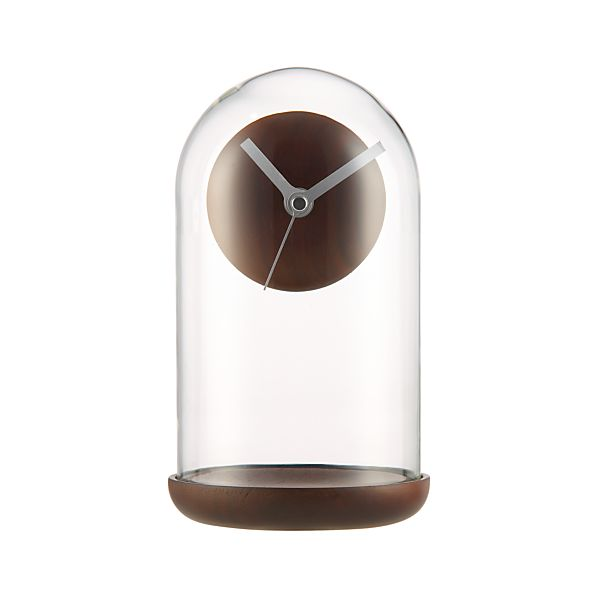 Suspend Walnut Mantel Clock