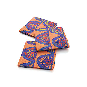 Swag Paper Beverage Napkins Set of 20