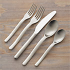 Sway 20-Piece Flatware Set: four 5-piece place settings.