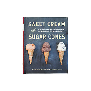 Sweet Cream and Sugar Cones Cookbook