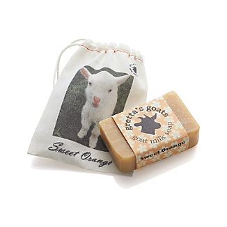 Gretta's Goat Milk Sweet Orange Soap