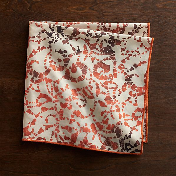 Swirl Batik Napkin