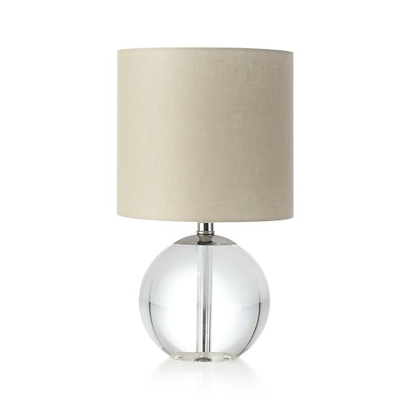 sybil table lamp crate and barrel. Black Bedroom Furniture Sets. Home Design Ideas