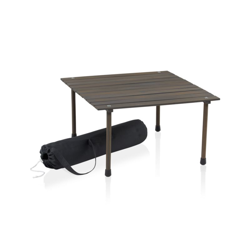 Table In A Bag In Dining Furniture Crate And Barrel