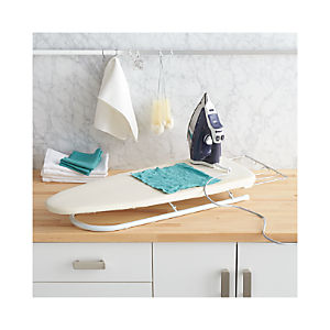 Polder® Tabletop Ironing Board with Rack