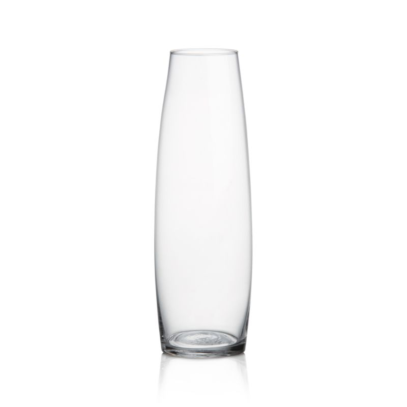Slender vase charms with subtly flared profile, perfectly sized to showcase a single stem. Endlessly versatile alone or in multiples as room accents or creative tablescapes.<br /><br /><NEWTAG/><ul><li>Glass</li><li>Hand wash</li><li>Made in Poland</li></ul>