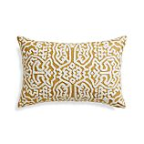 "Tambo 24""x16"" Pillow with Feather-Down Insert"