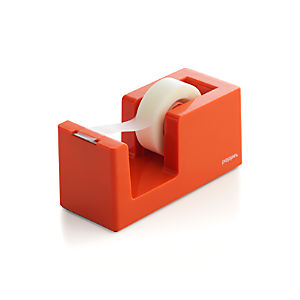 Poppin® Orange Tape Dispenser