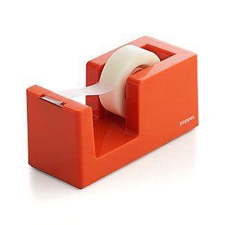 Poppin® Orange Tape Dispenser