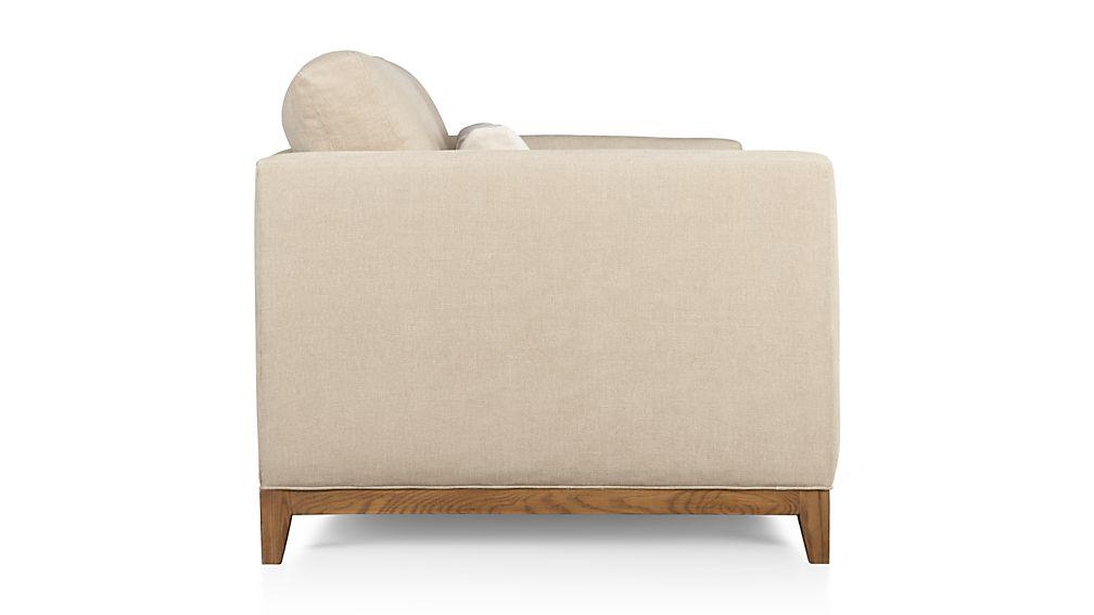 Taraval 3-Seat Sofa with Oak Base