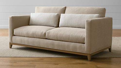 Taraval Apartment Sofa with Oak Base