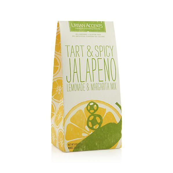 Urban Accents Tart & Spicy Jalapeño Lemonade | Crate and Barrel