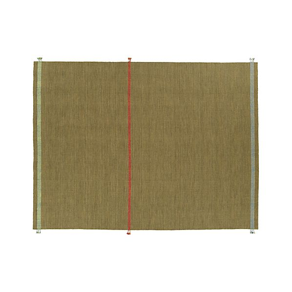 Tassel Green 9x12' Rug
