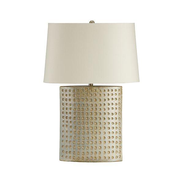 table lamps for bedside and desk crate and barrel. Black Bedroom Furniture Sets. Home Design Ideas