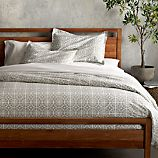 Taza Grey Duvet Covers and Pillow Shams