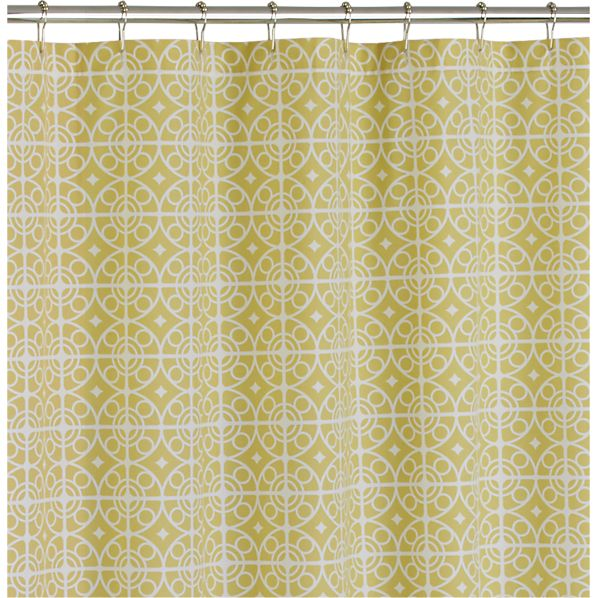 Taza Citron Shower Curtain