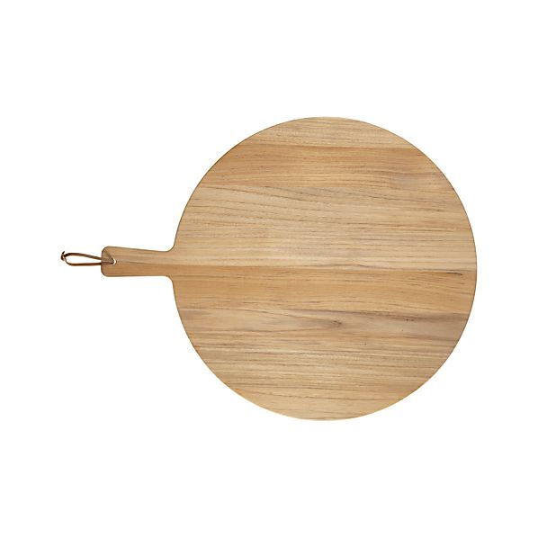 FSC Teak Round Cutting Board