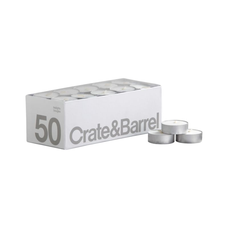Box of 50 Tealight Candles