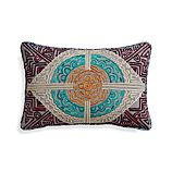 "Teja 20""x13"" Pillow with Feather-Down Insert"