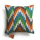 "Tempest 16"" Pillow with Feather-Down Insert"