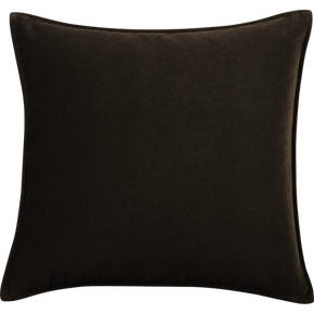 Tempo Velvet Chocolate 20 sq. Pillow