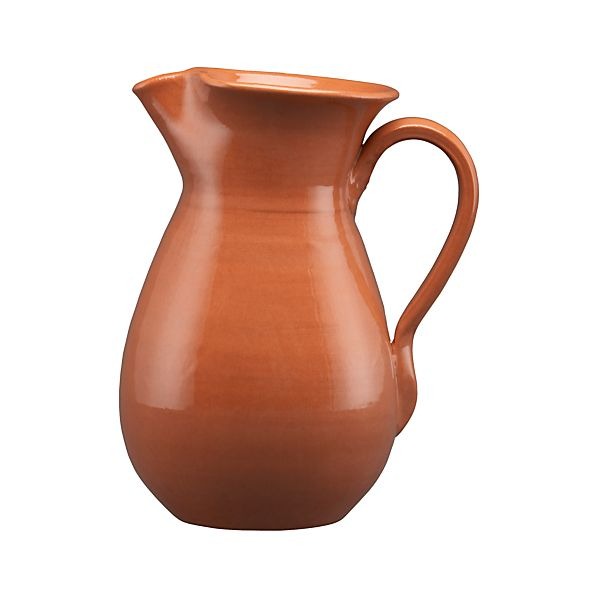 Terra Cotta Pitcher