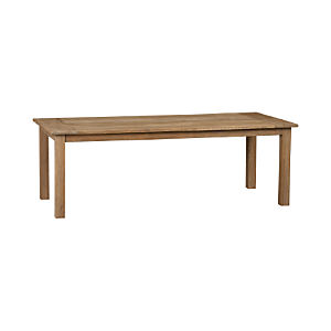 "Terravida Grey Wash 87"" Dining Table"