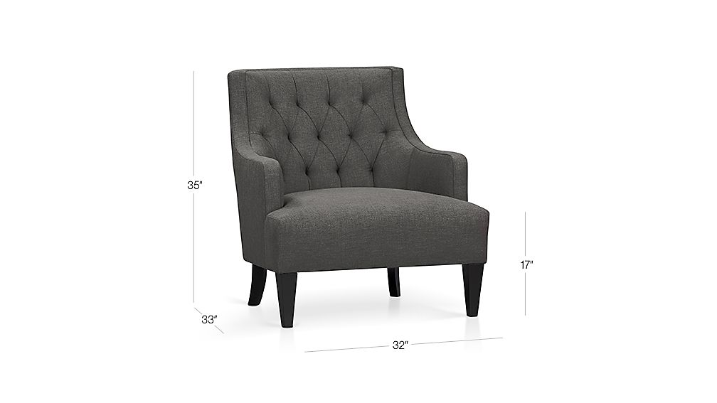 Tess Chair Dimensions