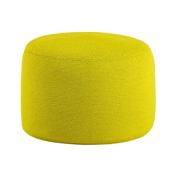 Outdoor Sulfur Pouf