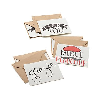 Set of 6 Thank You Cards