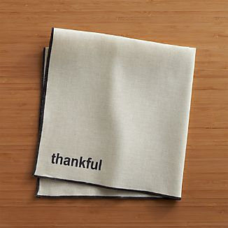 Thankful Napkin