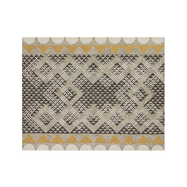 Thea Wool 8 X10 Rug Crate And Barrel