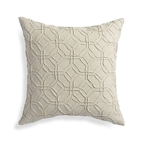 Crate And Barrel Decorative Pillow Covers : Theo 18