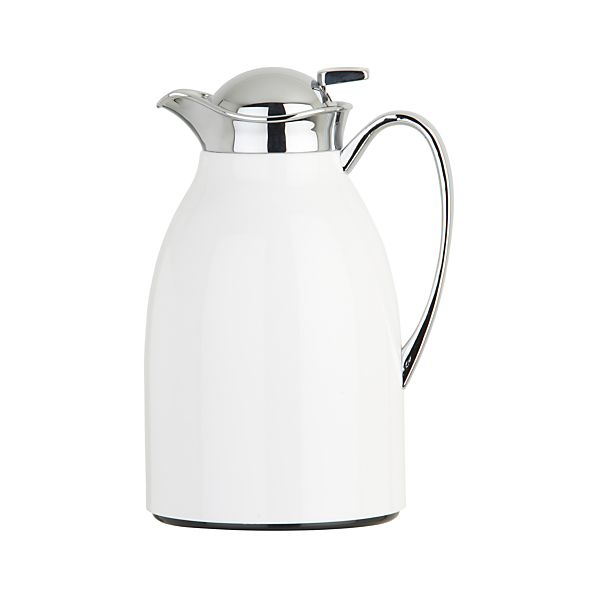 Thermal White Carafe